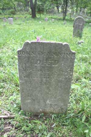MANNING, JOHN - Blair County, Pennsylvania | JOHN MANNING - Pennsylvania Gravestone Photos