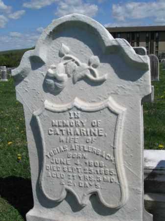 AFFLERBACH, CATHERINE - Bucks County, Pennsylvania | CATHERINE AFFLERBACH - Pennsylvania Gravestone Photos