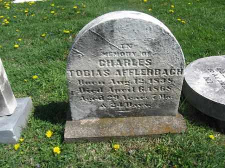 AFFLERBACH, CHARLES TOBIAS - Bucks County, Pennsylvania | CHARLES TOBIAS AFFLERBACH - Pennsylvania Gravestone Photos