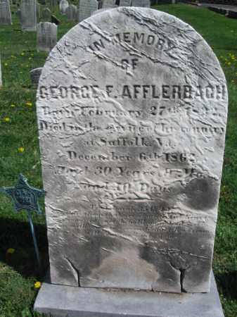 AFFLERBACH (CW), GEORGE F. - Bucks County, Pennsylvania   GEORGE F. AFFLERBACH (CW) - Pennsylvania Gravestone Photos