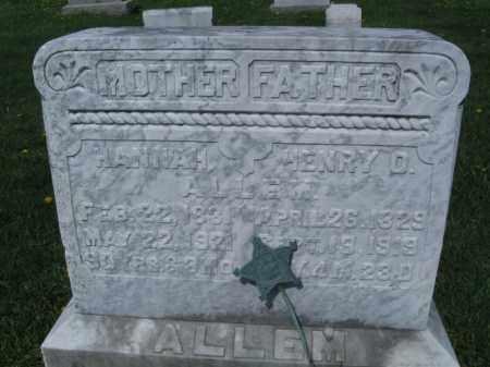 ALLEM (AHLEM) (CW), HENRY O. - Bucks County, Pennsylvania | HENRY O. ALLEM (AHLEM) (CW) - Pennsylvania Gravestone Photos