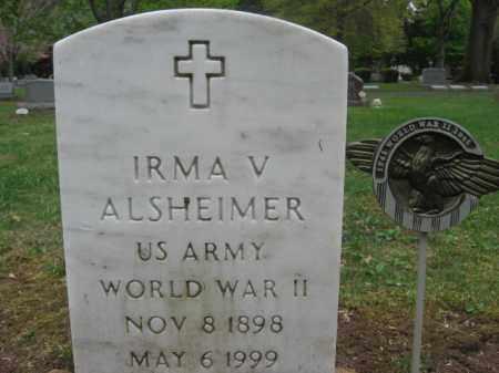 ALSHEIMER, IRMA  V. - Bucks County, Pennsylvania | IRMA  V. ALSHEIMER - Pennsylvania Gravestone Photos