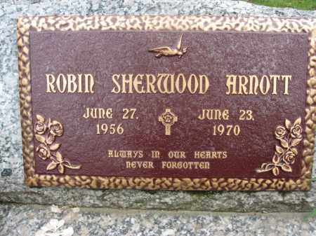 ARNOTT, ROBIN SHERWOOD - Bucks County, Pennsylvania | ROBIN SHERWOOD ARNOTT - Pennsylvania Gravestone Photos