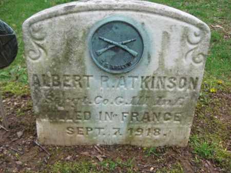 ATKINSON, ALBERT R. - Bucks County, Pennsylvania | ALBERT R. ATKINSON - Pennsylvania Gravestone Photos