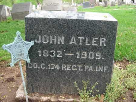 ATLER  (CW), JOHN - Bucks County, Pennsylvania | JOHN ATLER  (CW) - Pennsylvania Gravestone Photos
