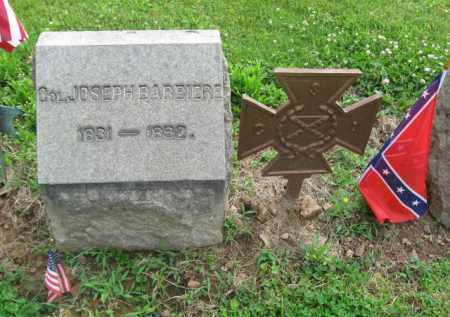 BARBIERE (BARBIER) (CSA-CW), JOSEPH. - Bucks County, Pennsylvania | JOSEPH. BARBIERE (BARBIER) (CSA-CW) - Pennsylvania Gravestone Photos