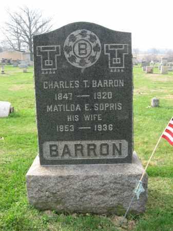 BARRON, MATILDA E. - Bucks County, Pennsylvania | MATILDA E. BARRON - Pennsylvania Gravestone Photos
