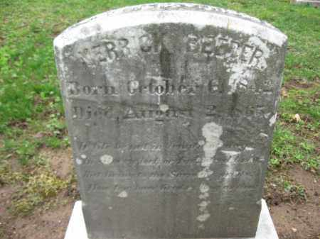 BEEBER, MERRICK - Bucks County, Pennsylvania   MERRICK BEEBER - Pennsylvania Gravestone Photos