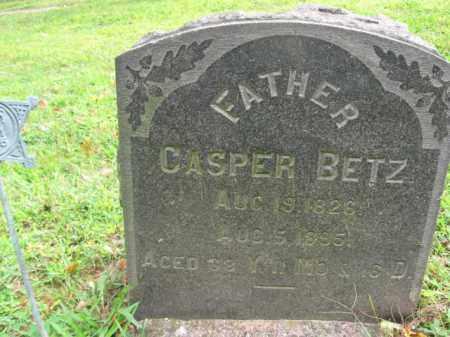BETZ, CASPER - Bucks County, Pennsylvania | CASPER BETZ - Pennsylvania Gravestone Photos
