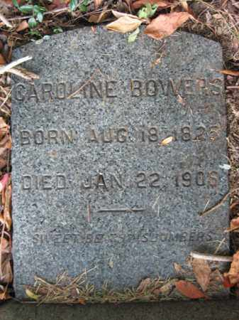 BOWERS, CAROLINE - Bucks County, Pennsylvania | CAROLINE BOWERS - Pennsylvania Gravestone Photos