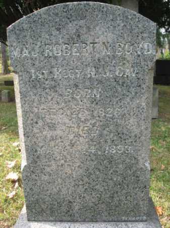 BOYD (CW), MAJOR ROBERT N. - Bucks County, Pennsylvania | MAJOR ROBERT N. BOYD (CW) - Pennsylvania Gravestone Photos