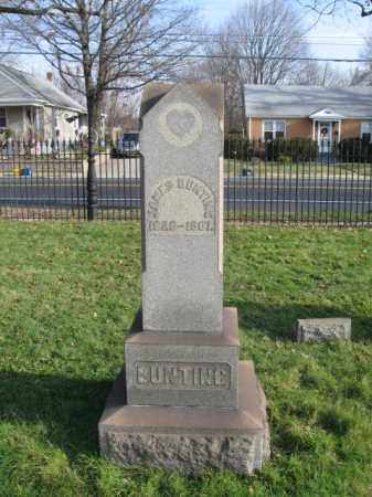 BUNTING, JAMES - Bucks County, Pennsylvania | JAMES BUNTING - Pennsylvania Gravestone Photos
