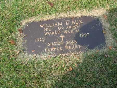 BUX, WILLIAM E. - Bucks County, Pennsylvania | WILLIAM E. BUX - Pennsylvania Gravestone Photos