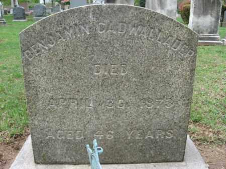 CADWALLADER, BENJAMIN - Bucks County, Pennsylvania | BENJAMIN CADWALLADER - Pennsylvania Gravestone Photos
