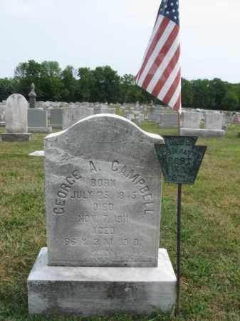 CAMPBELL, GEORGE A. - Bucks County, Pennsylvania | GEORGE A. CAMPBELL - Pennsylvania Gravestone Photos