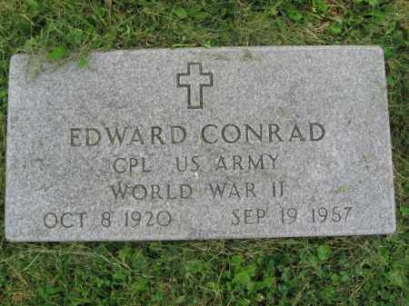 CONRAD (WW II), EDWARD - Bucks County, Pennsylvania | EDWARD CONRAD (WW II) - Pennsylvania Gravestone Photos