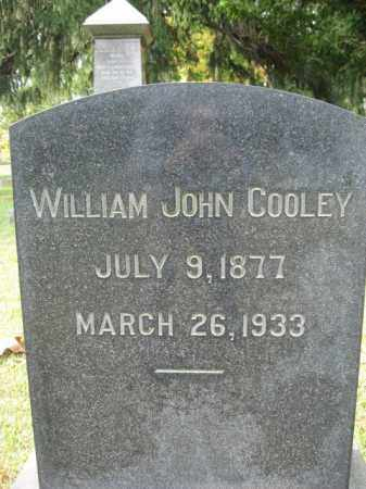 COOLEY, WILLIAM JOHN - Bucks County, Pennsylvania | WILLIAM JOHN COOLEY - Pennsylvania Gravestone Photos