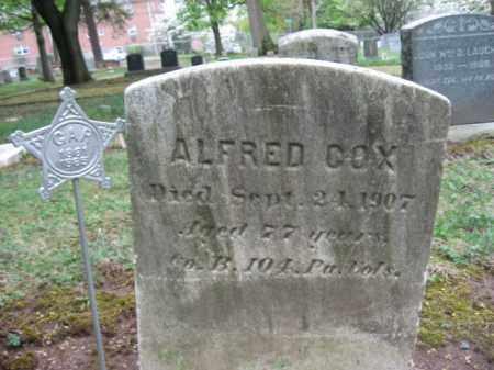COX   (CW), PVT.ALFRED - Bucks County, Pennsylvania | PVT.ALFRED COX   (CW) - Pennsylvania Gravestone Photos