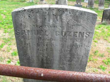 COZENS, SAMUEL - Bucks County, Pennsylvania | SAMUEL COZENS - Pennsylvania Gravestone Photos