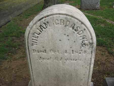 CROASDALE, WILLIAM - Bucks County, Pennsylvania | WILLIAM CROASDALE - Pennsylvania Gravestone Photos