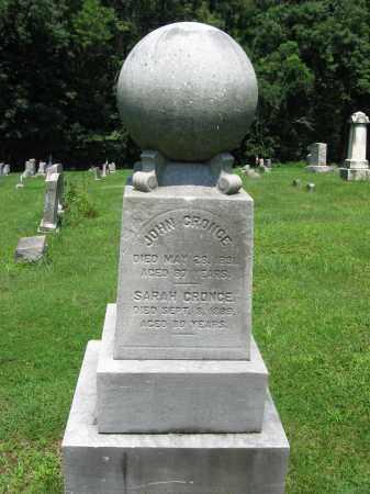 CRONCE, JOHN - Bucks County, Pennsylvania   JOHN CRONCE - Pennsylvania Gravestone Photos
