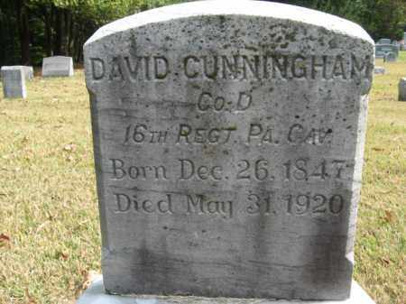 CUNNINGHAM, DAVID - Bucks County, Pennsylvania | DAVID CUNNINGHAM - Pennsylvania Gravestone Photos