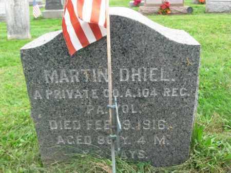 DHIEL (DIEHL) (CW), MARTIN - Bucks County, Pennsylvania | MARTIN DHIEL (DIEHL) (CW) - Pennsylvania Gravestone Photos