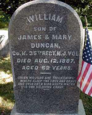 DUNCAN (CW), WILLIAM - Bucks County, Pennsylvania | WILLIAM DUNCAN (CW) - Pennsylvania Gravestone Photos