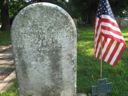 DUNLAP, ANTHONY - Bucks County, Pennsylvania | ANTHONY DUNLAP - Pennsylvania Gravestone Photos