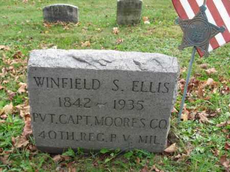 ELLIS (CW), WINFIELD S. - Bucks County, Pennsylvania | WINFIELD S. ELLIS (CW) - Pennsylvania Gravestone Photos