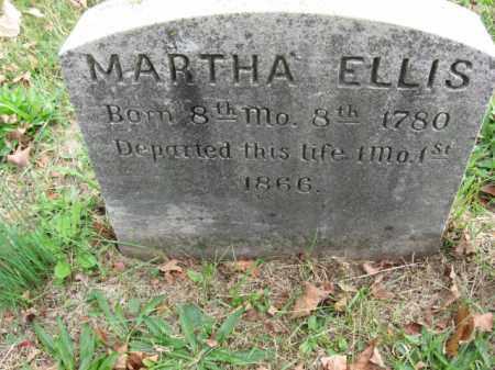 ELLIS, MARTHA - Bucks County, Pennsylvania   MARTHA ELLIS - Pennsylvania Gravestone Photos