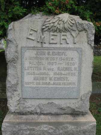 EMERY (CW), JOHN (S.) - Bucks County, Pennsylvania | JOHN (S.) EMERY (CW) - Pennsylvania Gravestone Photos