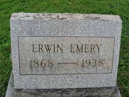 EMERY, ERWIN - Bucks County, Pennsylvania | ERWIN EMERY - Pennsylvania Gravestone Photos