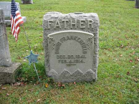 FRANKENFIELD (CW), DAVID - Bucks County, Pennsylvania | DAVID FRANKENFIELD (CW) - Pennsylvania Gravestone Photos