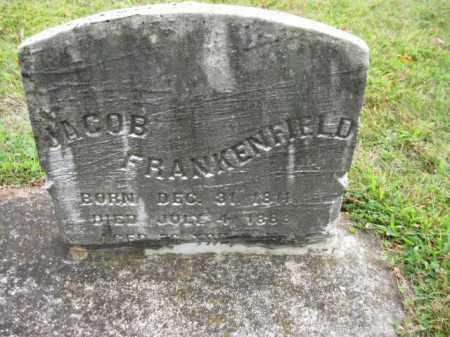 FRANKENFIELD, JACOB - Bucks County, Pennsylvania | JACOB FRANKENFIELD - Pennsylvania Gravestone Photos