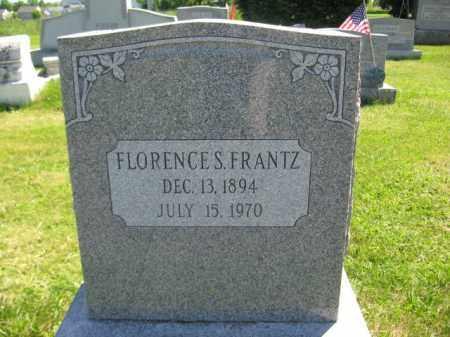 FRANTZ, FLORENCE S. - Bucks County, Pennsylvania | FLORENCE S. FRANTZ - Pennsylvania Gravestone Photos