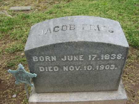 FRIES, JACOB - Bucks County, Pennsylvania   JACOB FRIES - Pennsylvania Gravestone Photos