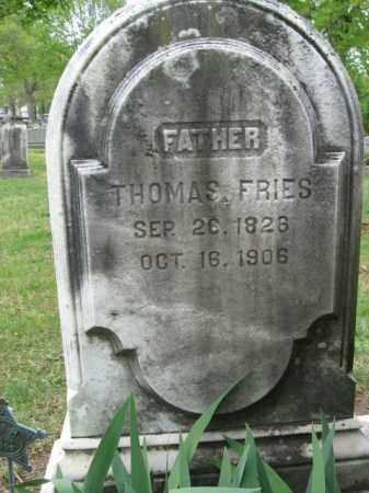 FRIES, THOMAS - Bucks County, Pennsylvania | THOMAS FRIES - Pennsylvania Gravestone Photos