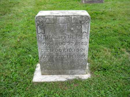 FULLMER, MAHALA - Bucks County, Pennsylvania | MAHALA FULLMER - Pennsylvania Gravestone Photos