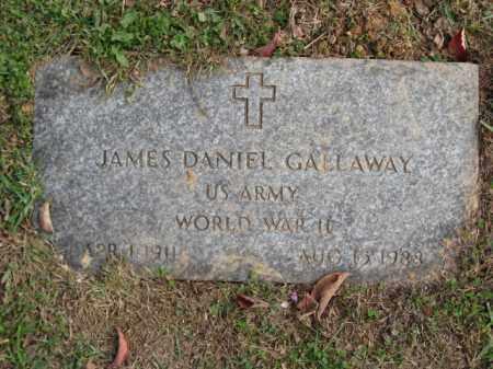GALLAWAY, JAMES DANIEL - Bucks County, Pennsylvania | JAMES DANIEL GALLAWAY - Pennsylvania Gravestone Photos