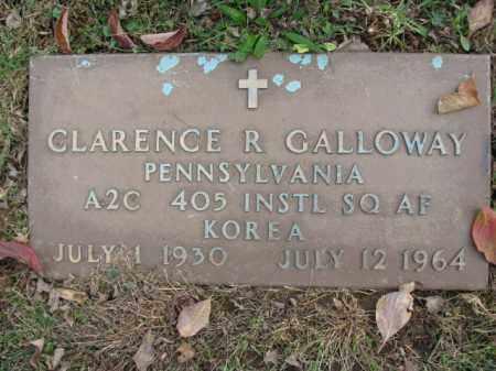 GALLOWAY, CLARENCE R. - Bucks County, Pennsylvania | CLARENCE R. GALLOWAY - Pennsylvania Gravestone Photos