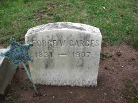GARGES, GEORGE W. - Bucks County, Pennsylvania | GEORGE W. GARGES - Pennsylvania Gravestone Photos
