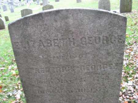 GEORGE, ELIZABETH - Bucks County, Pennsylvania | ELIZABETH GEORGE - Pennsylvania Gravestone Photos