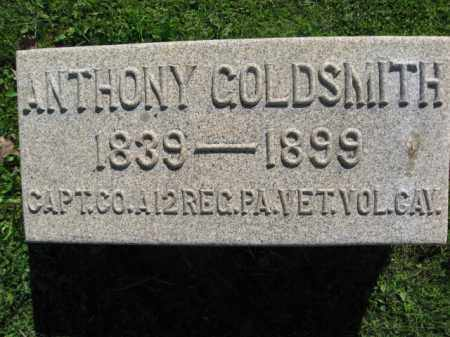 GOLDSMITH (CW), ANTHONY (ANTON) - Bucks County, Pennsylvania | ANTHONY (ANTON) GOLDSMITH (CW) - Pennsylvania Gravestone Photos