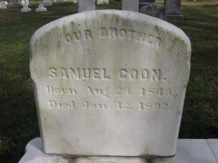 GOON, SAMUEL - Bucks County, Pennsylvania   SAMUEL GOON - Pennsylvania Gravestone Photos