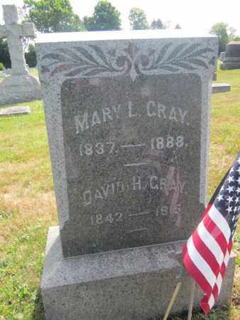 GRAY, MARY L. - Bucks County, Pennsylvania   MARY L. GRAY - Pennsylvania Gravestone Photos