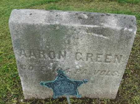 GREEN  (CW), PVT.AARON - Bucks County, Pennsylvania | PVT.AARON GREEN  (CW) - Pennsylvania Gravestone Photos