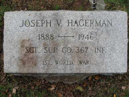 HAGERMAN, JOSEPH V. - Bucks County, Pennsylvania | JOSEPH V. HAGERMAN - Pennsylvania Gravestone Photos