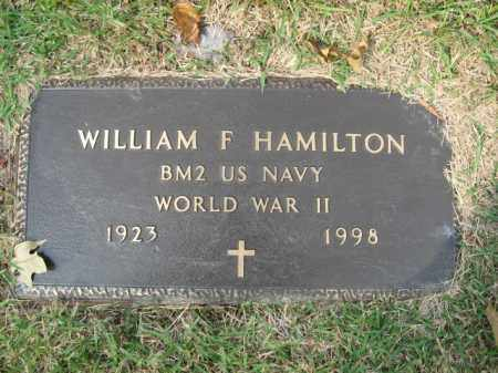 HAMILTON, WILLIAM F. - Bucks County, Pennsylvania | WILLIAM F. HAMILTON - Pennsylvania Gravestone Photos