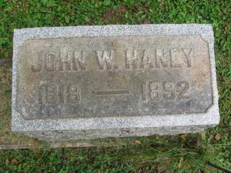 HANLY, JOHN W, - Bucks County, Pennsylvania   JOHN W, HANLY - Pennsylvania Gravestone Photos